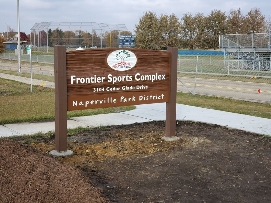 Frontier Sports Complex's signage